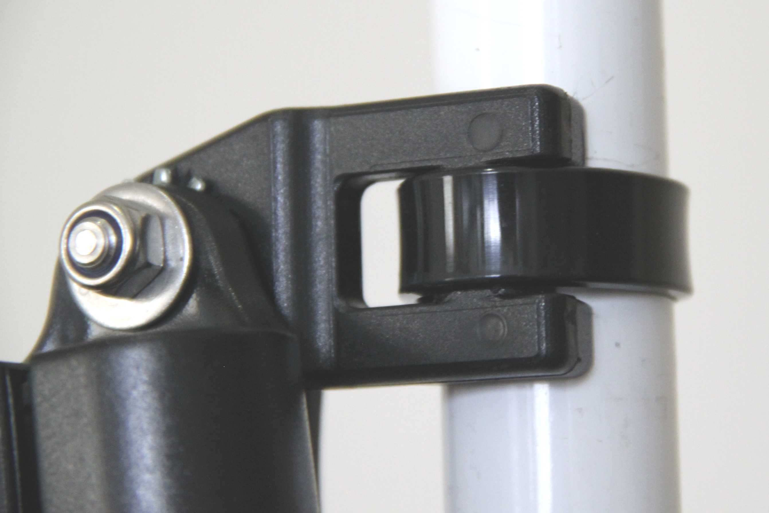 Holder attached with 12.6mm wide cable tie